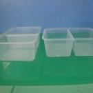 650ml双凹注塑塑料盒